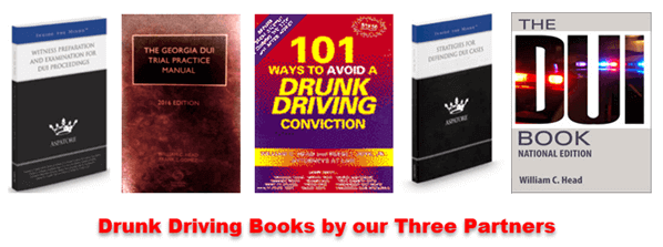 Drunk Driving Books by William Head