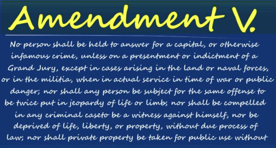 5th Amendment GA DUI