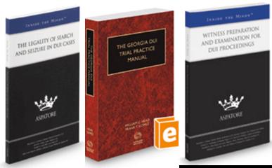 Georgia DUI Law Books
