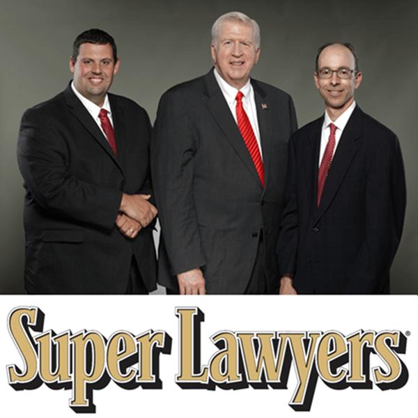 Bubba Head, Larry Kohn, Cory Yager Super Lawyers