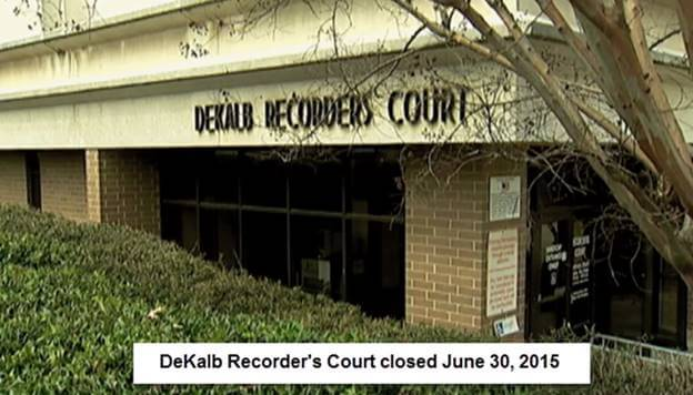 DeKalb County State Court Takes over Recorder's Court