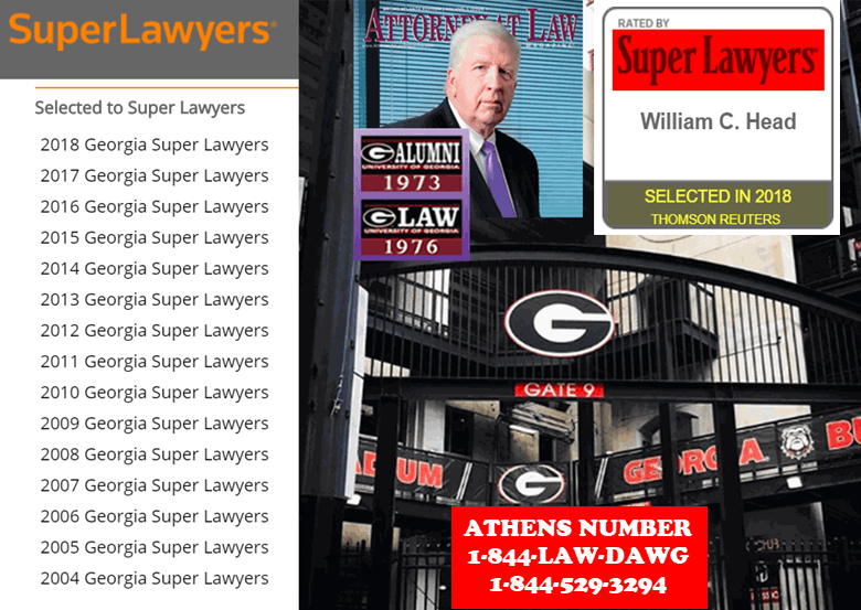 Best Athens Georgia DUI Lawyer Bubba Head