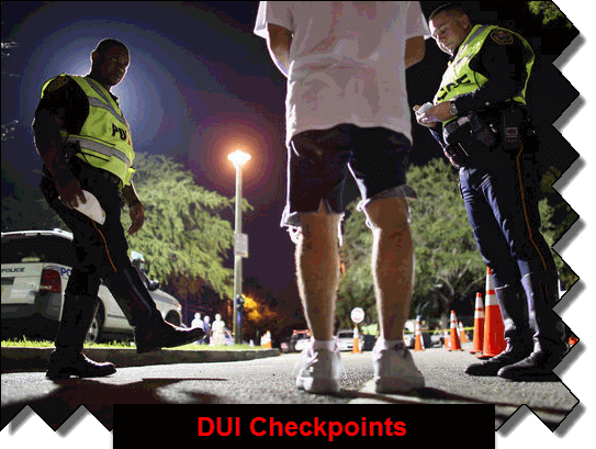 DUI Checkpoints Georgia