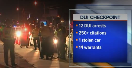 DUI Checkpoint Refusal
