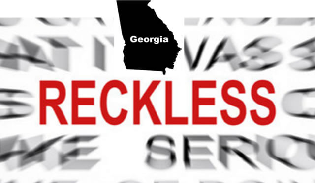 Reckless Driving GA Misdemeanor