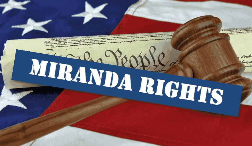GA Miranda rights law