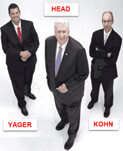 Highly-rated speeding ticket lawyer GA Cory Yager, Bubba Head, Larry Kohn