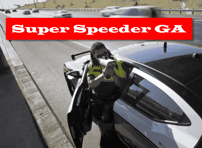 Georgia super speeder law