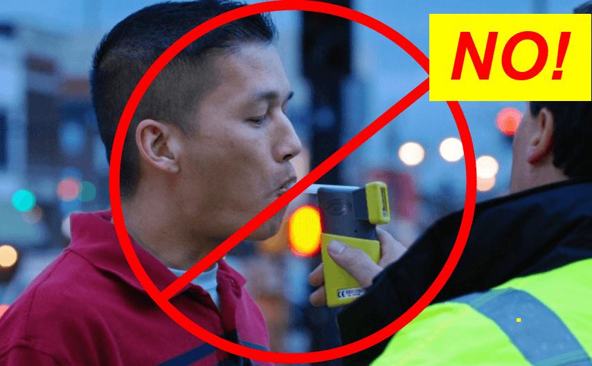 Refuse Voluntary Roadside Breathalyzer