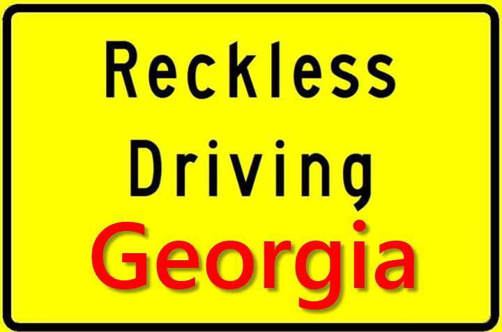 Is Reckless Driving in GA a Felony
