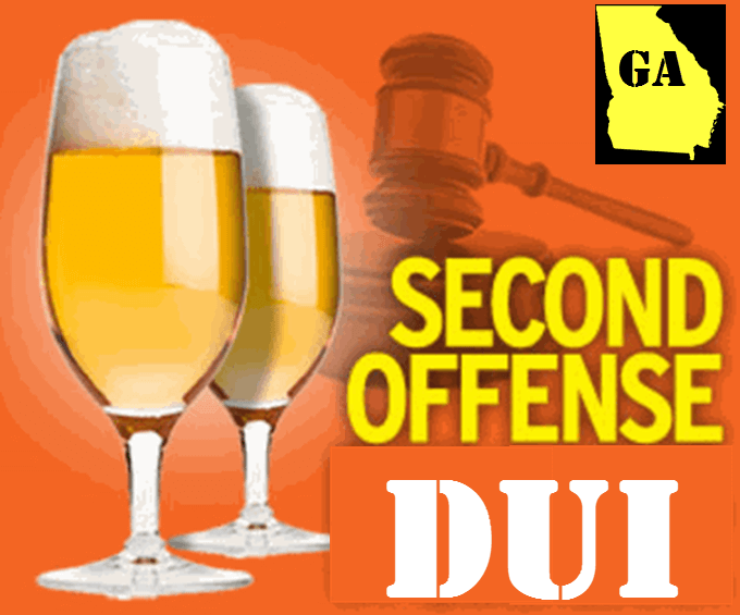 Second Offense DUI Georgia