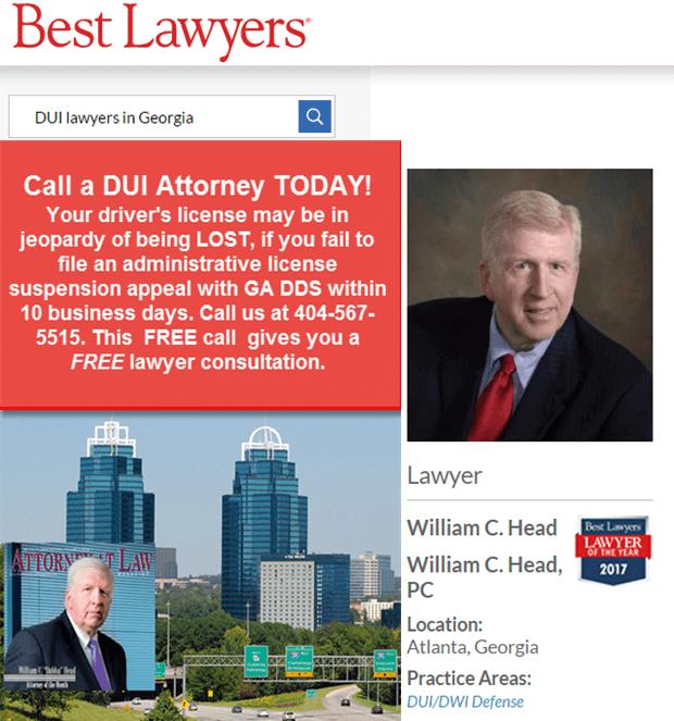 William C. Head - Atlanta DUI Attorney