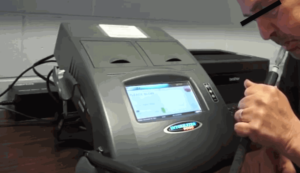 Intoxilyzer 9000 Breath Test