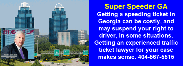 Georgia Super Speeder Laws Bubba Head