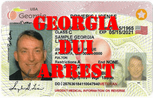 GA DUI Implied Consent License Suspension