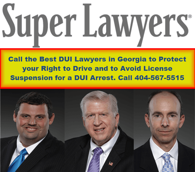 Atlanta DUI License Suspension Law Firm