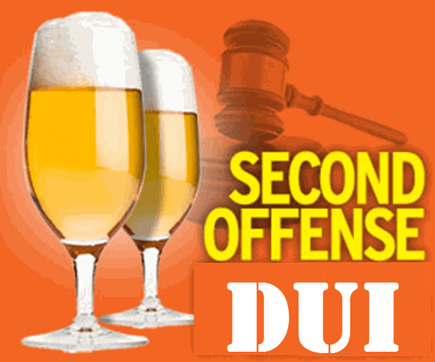 Second Offense DUI Penalties