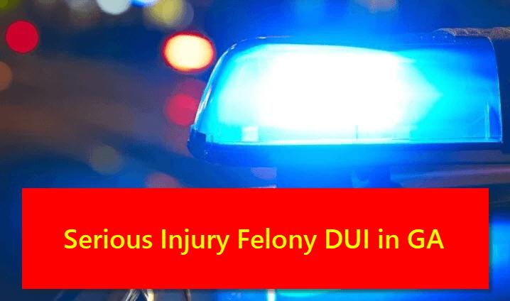 Felony DUI in Georgia