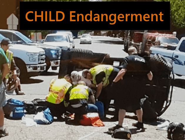 DUI Accident - Felony DUI - Child Endangerment