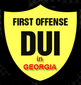 First Ofense DUI in Georgia