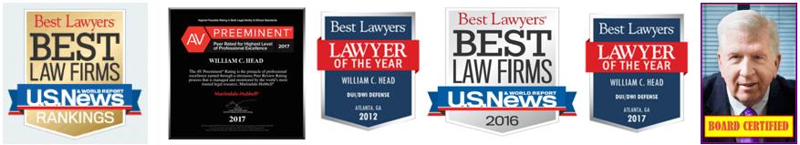 Best Lawyers in Georgia Bubba Head