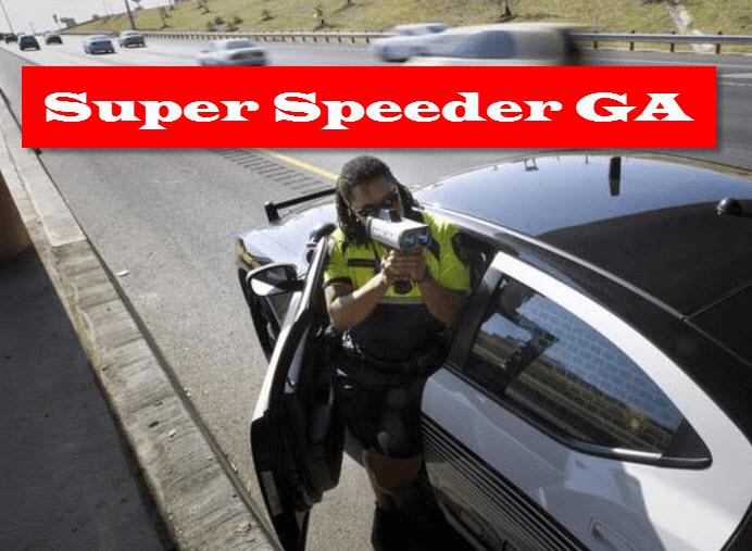 Super Speeder Georgia Points Reduction