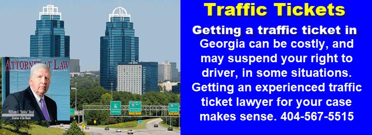 Atlanta Traffic Tickets