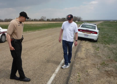 DUI Walk and Turn Test