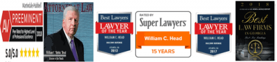 Top-rated DUI attorney in GA Bubba Head