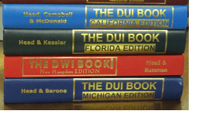 Bubba Head DUI Books
