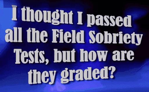 Georgia DUI Field Sobriety Test Clues