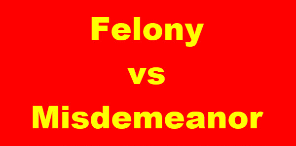 Georgia Difference Between Felony and Misdemeanor