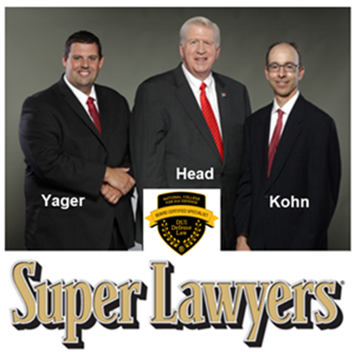 Super Lawyers Yager Head Kohn