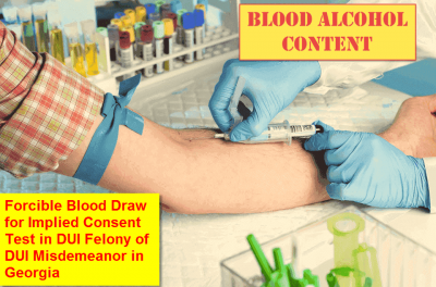 Blood Test for DUI in Georgia