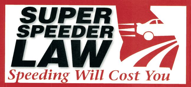 Super speeder in Georgia