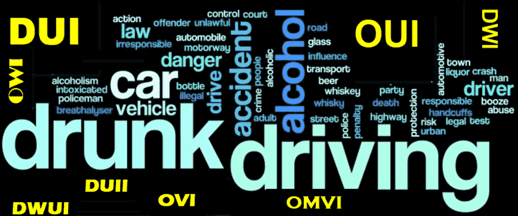 Acronyms for Drunk Driving in GA