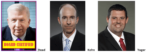 Top DUI Lawyers Georgia Bubba Head Cory Yager Larry Kohn