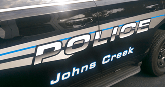 Johns Creek GA Police Car