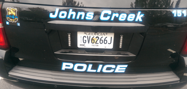 Johns Creek Fulton County Cop
