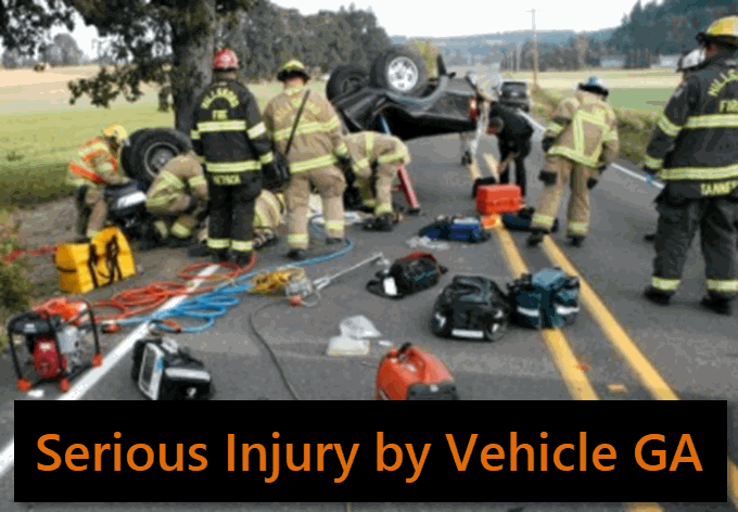 Serious Vehicle by Vehicle Scene
