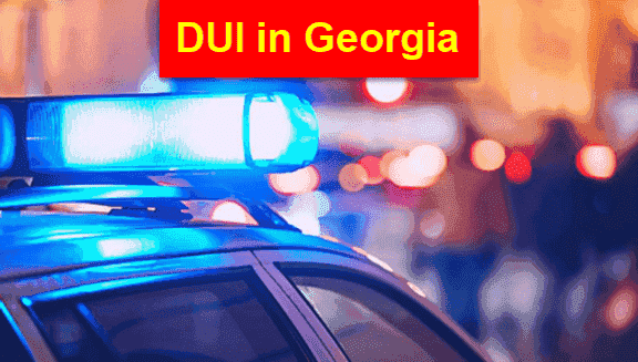 Arrested for 1st Offense Drunk Driving GA