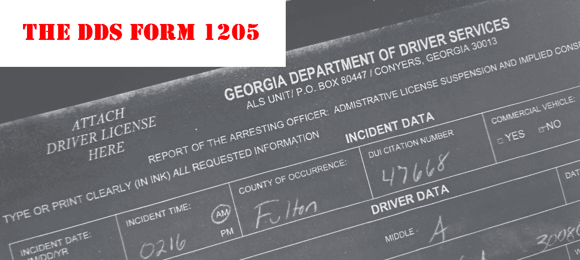 GA Implied Consent License Suspension