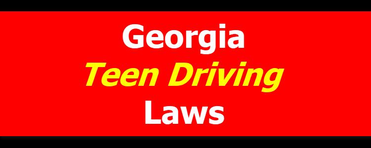 Georgia Teen Driving Laws