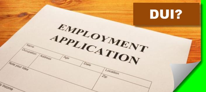 DUI Employment Application