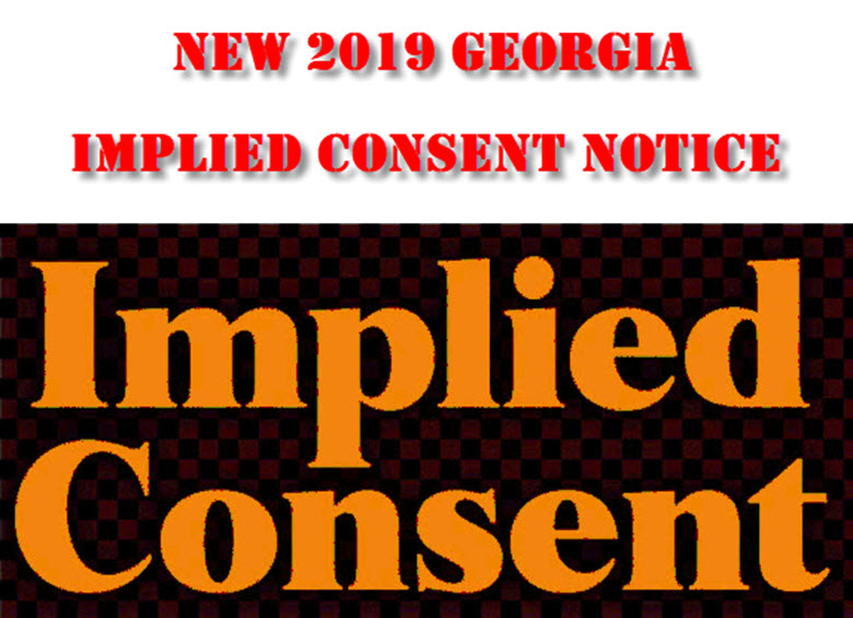 Georgia DUI Implied Consent