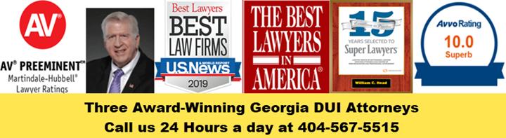 The Award Winnning Georgia DUI Attorneys