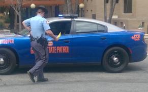 GA State Patrol Car