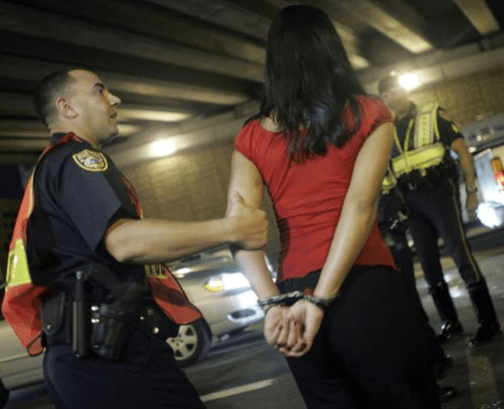 GA Traffic Ticket Arrest