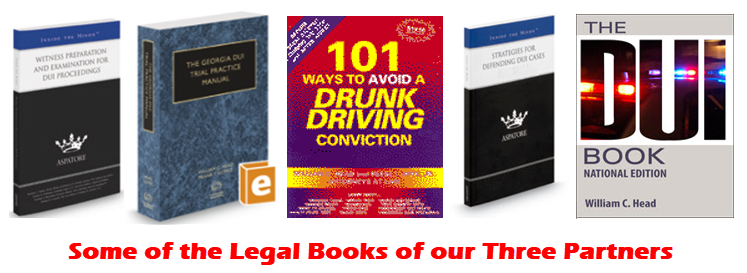 Some Of The Legal Books Of Our Three Partners