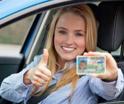 Woman With GA Drivers License